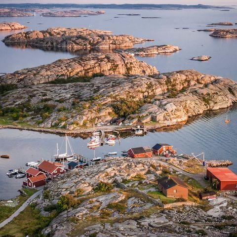 Schäreninseln vor Göteborg