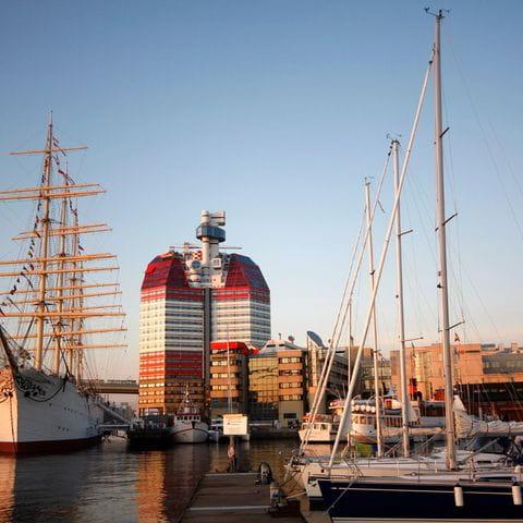Harbour of Gothenburg