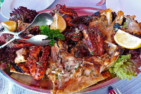 Färsk fisk i São Vicente