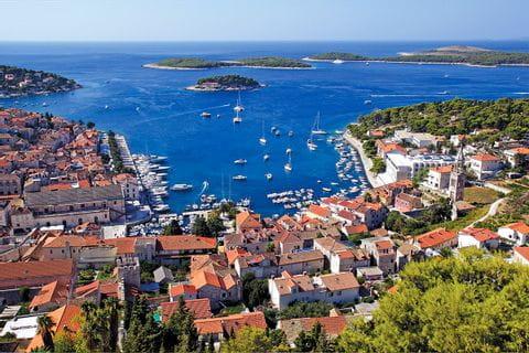 Hvar i Kroatien