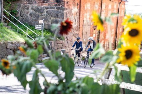 Cyklister i Göteborg
