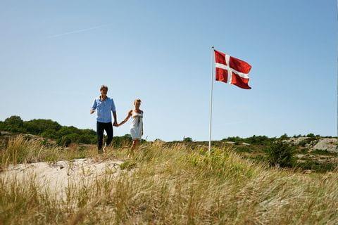 Beach walk on Bornholm