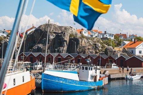 Bootsfahrt in die Schären vor Göteborg