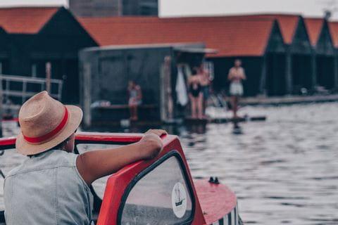 Boat life in Copenhagen
