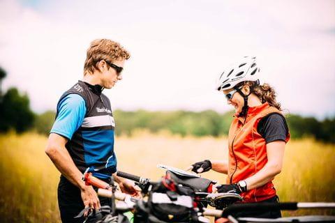 Cyklister på Fyn