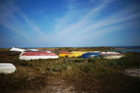 Boats on Gotland