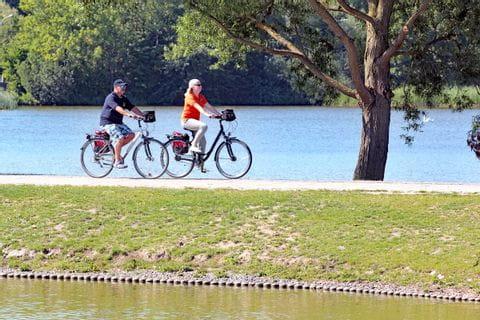 Cyklister i Själland
