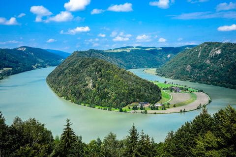 Donau cykelresa från Passau till Wien