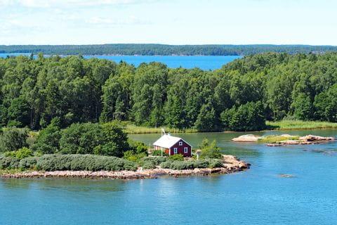 Archipelago in Finnland