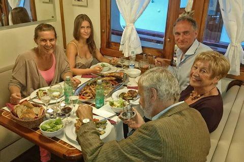 M/S Kapetan Kuka gäster