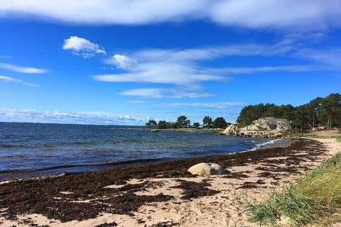 Beach on the island of Sandhamn