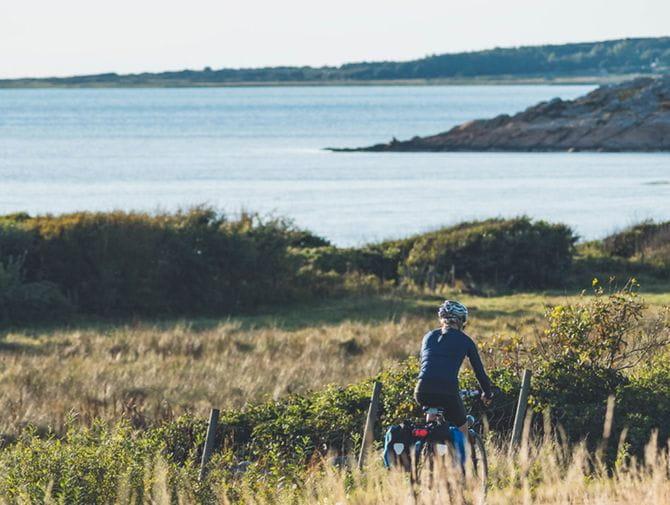 Radtour mit Meerblick