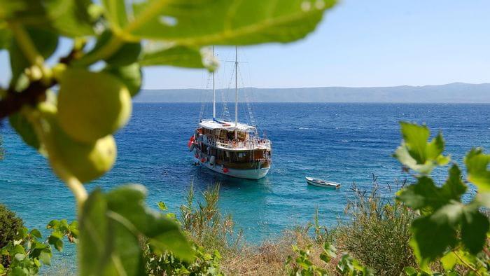 Båtcykling i Kroatien