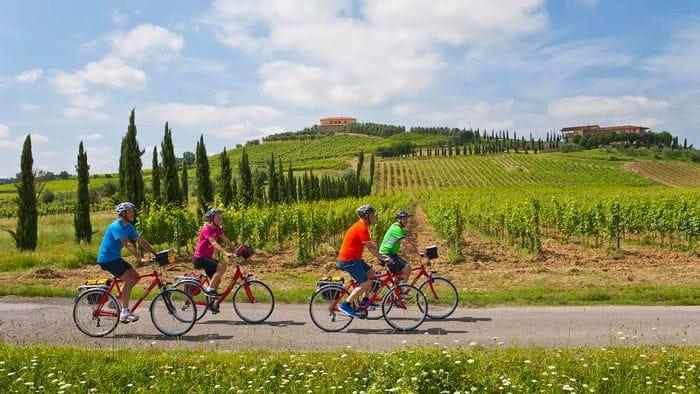 Cykelresor i Italien